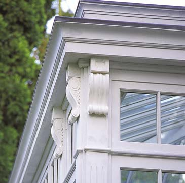 Period Conservatory Detail